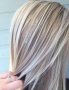 Blonde and Platinum White Blonde - Balayage Hairstyle Ideas 2017
