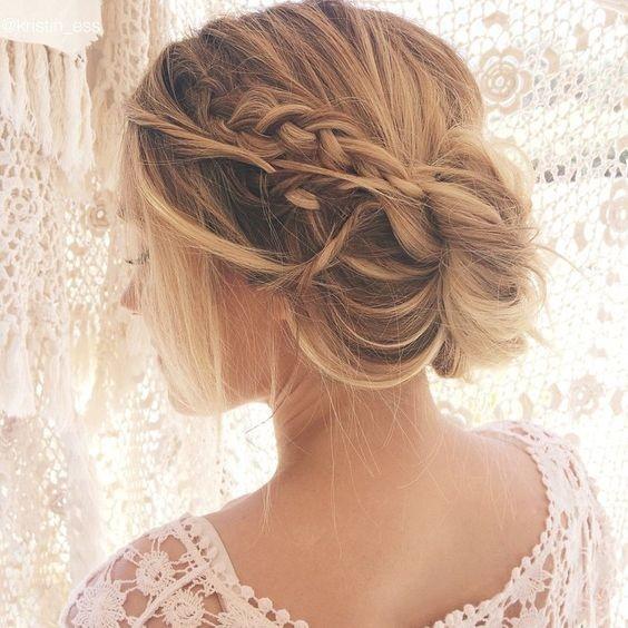 10 Ziemlich Chaotisch Hochsteckfrisuren Für Langes Haar Bestefrisur