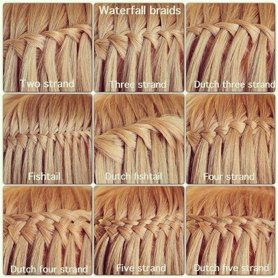 10 Ziemlich Wasserfall Französisch Braid Frisuren