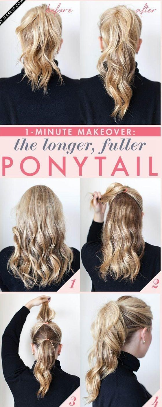 Double ponytail Hairstyles - Cute Ideas for Ponytails