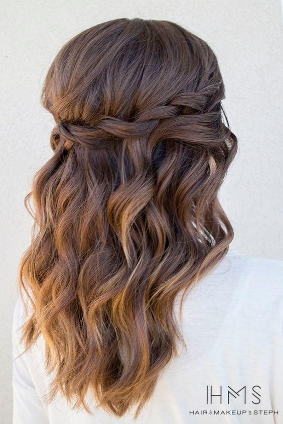 Superb Waterfall Braid Hairstyles For Medium Hair Braids Hairstyles For Men Maxibearus
