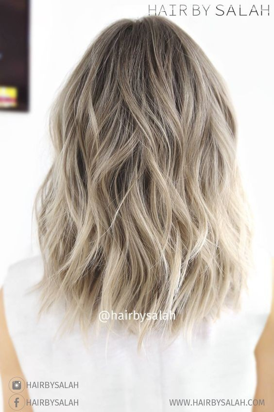 Tremendous 10 Balayage Hairstyles For Shoulder Length Hair Medium Haircut 2017 Short Hairstyles Gunalazisus