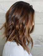 Painted Lob Hairstyles - Wavy, Shoulder Length Hair for Women and Girls 2017