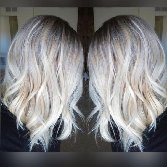 Perfect Medium Haircut for Women - Balayage Hairstyles 2017