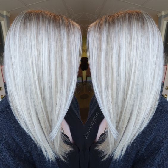 Platinum Blonde Hair Color Ideas For 2018 2019: 10 Hair Color Ideas For 2016