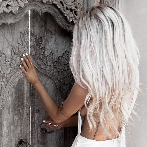 10 Hair Color Ideas For 2016  2017 Platinum Blonde Hair