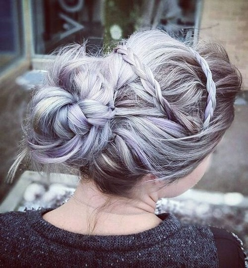 10 Pretty Messy Updos For Long Hair: Updo Hairstyles 2020