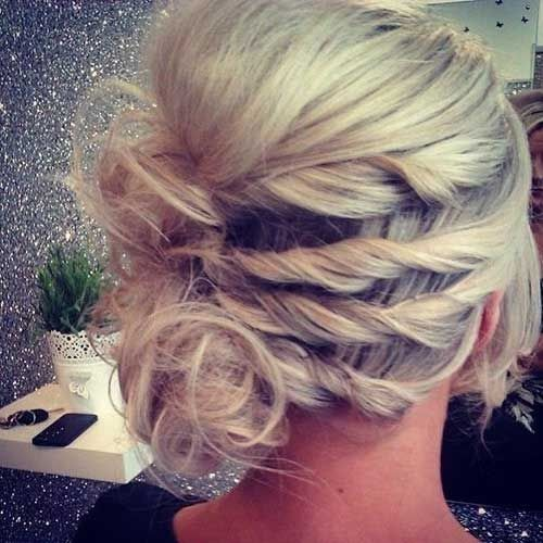 Pretty Prom Updo Hairstyle Ideas for Short Hair 2016 - 2017