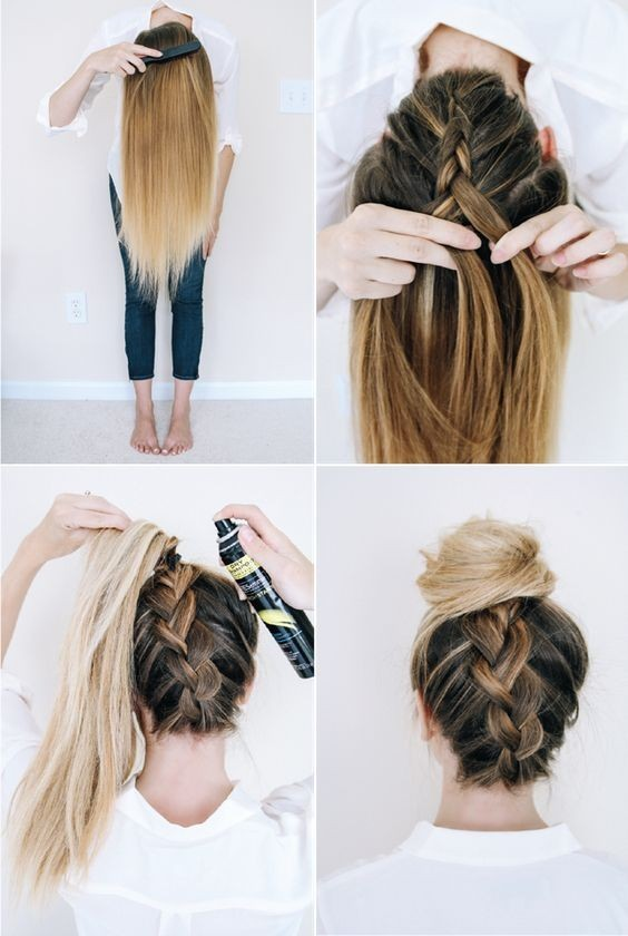 10 Super Trendy Easy Hairstyles For School Popular Haircuts