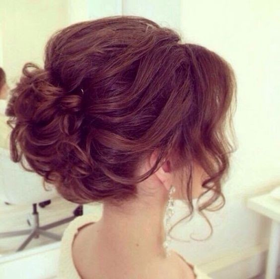Short, Updo Hairstyle for Prom