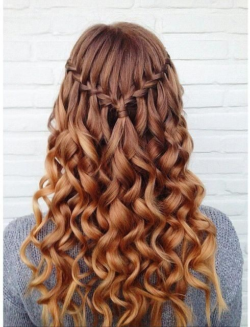 Enjoyable 10 Pretty Waterfall French Braid Hairstyles Different Hairstyle Hairstyles For Men Maxibearus