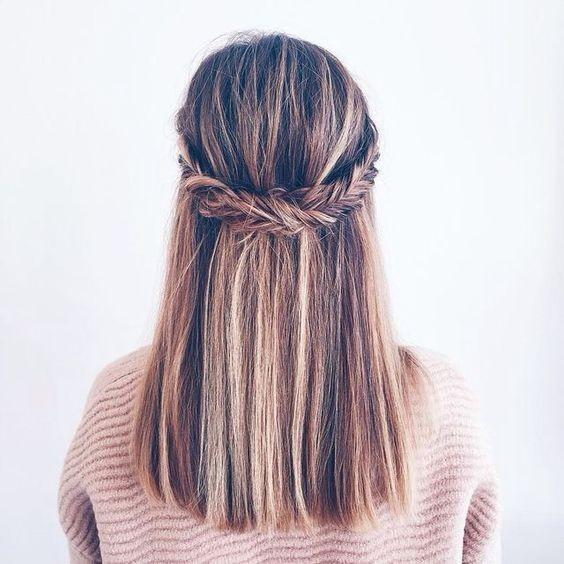 10 Super-Trendy Easy Frisuren für die Schule