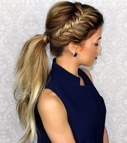 Marvelous 10 Easy Ponytail Hairstyles Long Hair Style Ideas 2016 2017 Hairstyle Inspiration Daily Dogsangcom