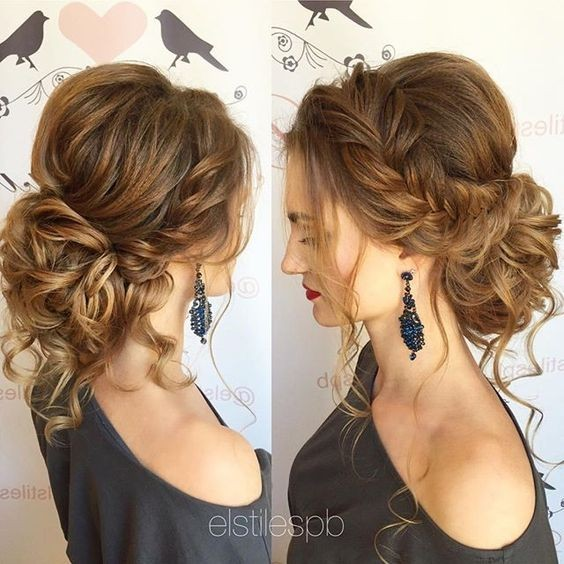 Groovy 10 Pretty Messy Updos For Long Hair Updo Hairstyles 2017 Short Hairstyles Gunalazisus