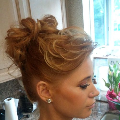 20 Elegant Buns Hairstyles You Have to See