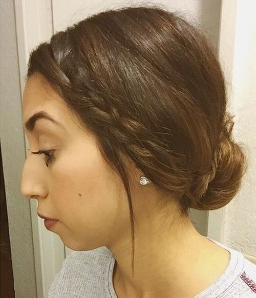 Fantastic 20 Pretty Everyday Bun Updos Short Updo Hairstyles For Summer 2017 Hairstyles For Women Draintrainus