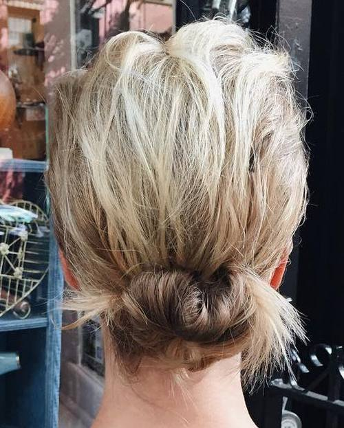20 hübsche, jeden Tag Frisuren für Brötchen Hochsteckfrisuren