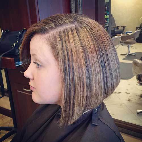 Blonde Bob with Black Highlights