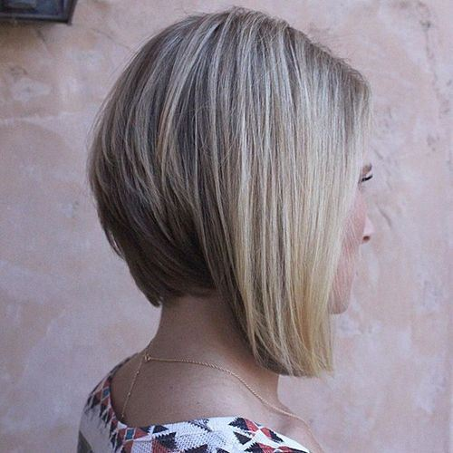Brilliant 22 Stylish Styles For Inverted Bobs Short Haircuts For Women 2016 Hairstyles For Women Draintrainus