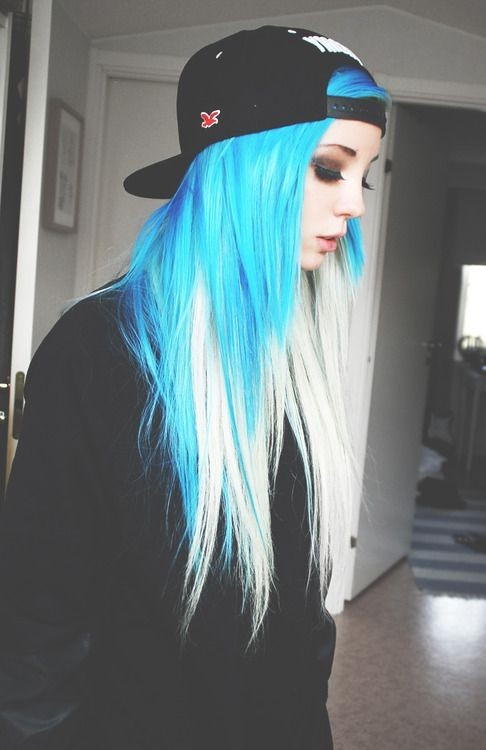 Fabulous 10 Intriguing Blue Hairstyles And Color Ideas 2017 Hair Color Trends Short Hairstyles Gunalazisus