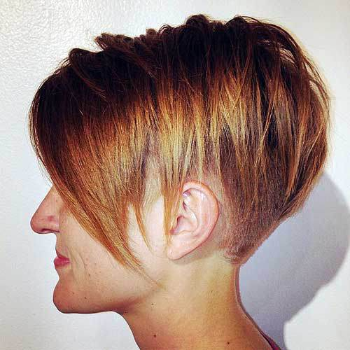 Layered Short Bob