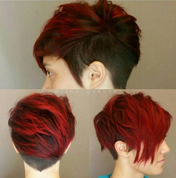 Lastest Short Hair Colors  Short Hairstyles 2016  2017  Most Popular Short