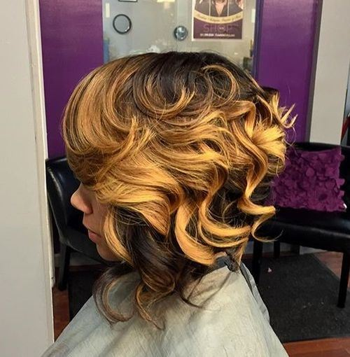 Two-tone Inverted Bob