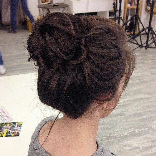 15 Cute Buns Updos 2019 Bun Updo Hairstyles For Women And