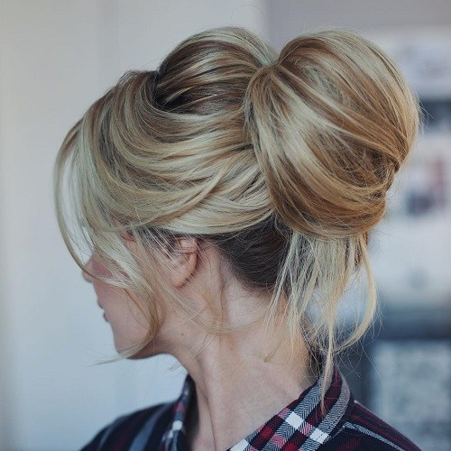15 Cute Buns Updos 2020 Bun Updo Hairstyles For Women And