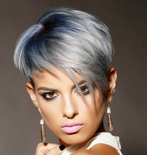 Subtle Silver Hair Color Trend For 2016 2017 Haircuts