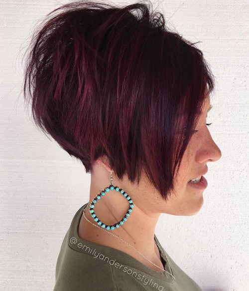Stacked Short Bob