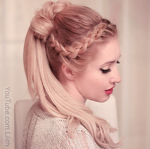 Enjoyable 19 Pretty French Braid Ponytail Ideas Summer Hairstyles For 2017 Short Hairstyles Gunalazisus