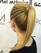 Triple-Braided-Ponytail