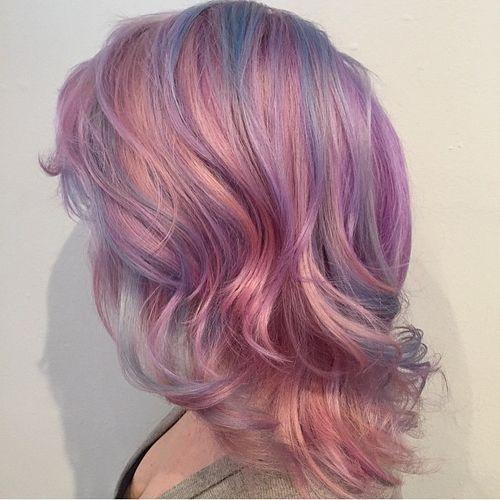 19 Glorious Pink Hair Style Ideen für den Frühling