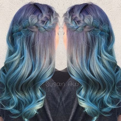 20 Sassy Blue Hairstyles