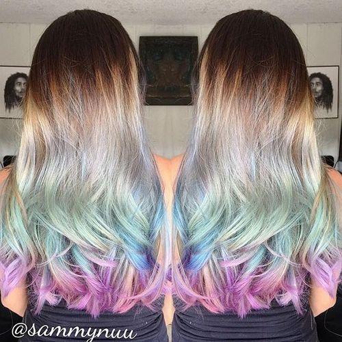20 Sassy Blue Hairstyles