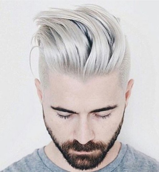 2017-new-hair-color-ideas-for-men-grey-hair-styles-with-short-straight-hair
