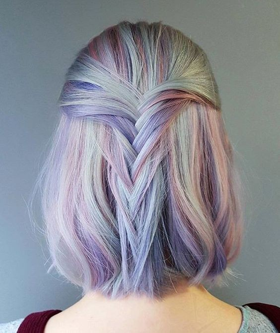 Pink And Purple Mermaid Hair: 10 Unique And Desirable Pastel Hair Ideas 2020