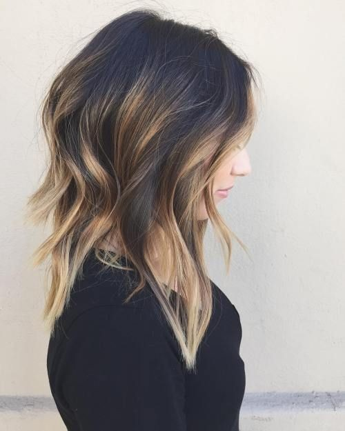 blonde-hair-ends-latest-medium-hairstyles-for-women-2017