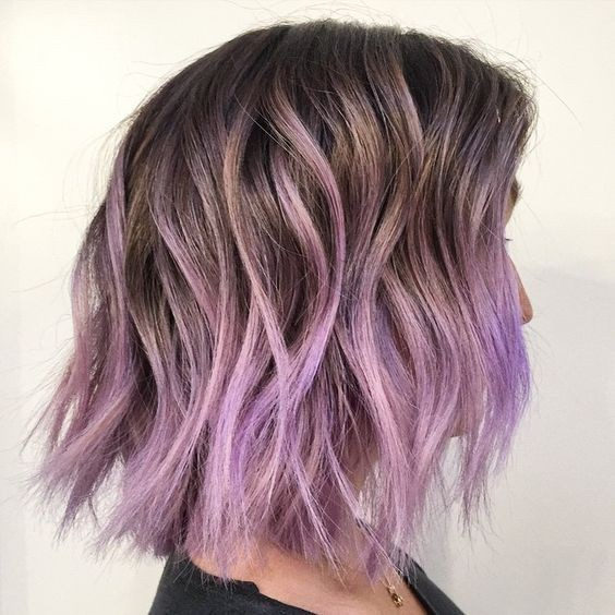 pastel-purple-ombre-short-hairstyles-for-thick-hair-20173