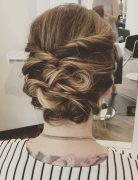 trendiest updos for medium length hair 16