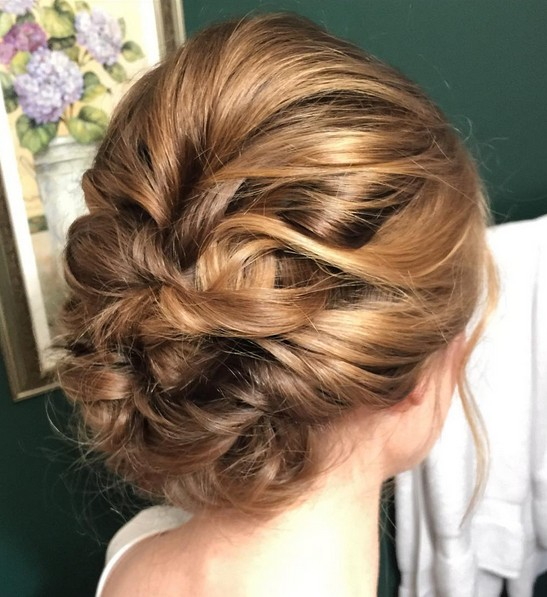 Trenst Updos For Medium Length Hair