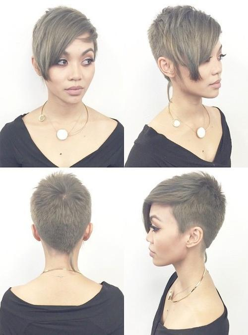 22 Best Colorful Ways to Enhance Your Pixie Haircut: 2017