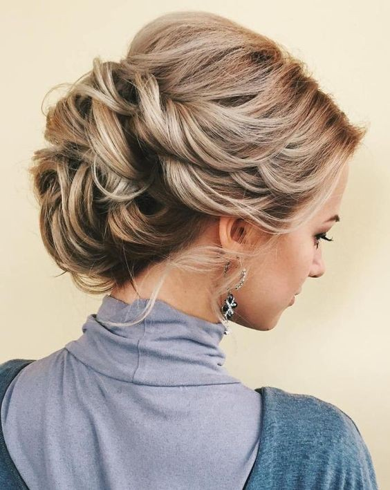 10 Stunning Up Do Hairstyles 2017 Bun Updo Hairstyle Designs For Women
