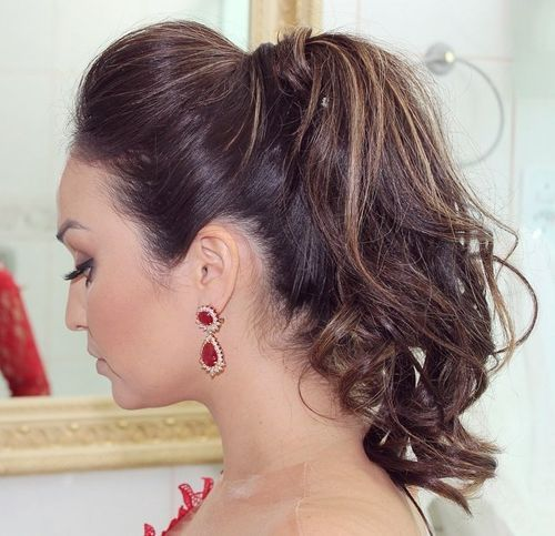 Pulled Back Ponytail