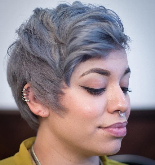Smokey Grey Pixie