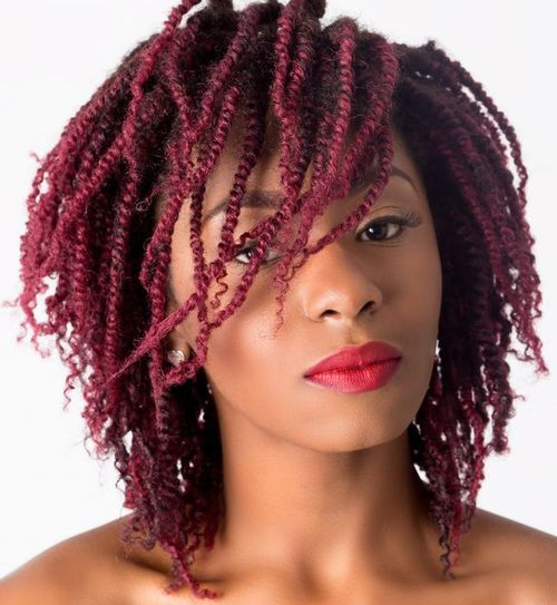 19 Amazing Twisted Braid Hairstyle Ideas: African American Women Hair