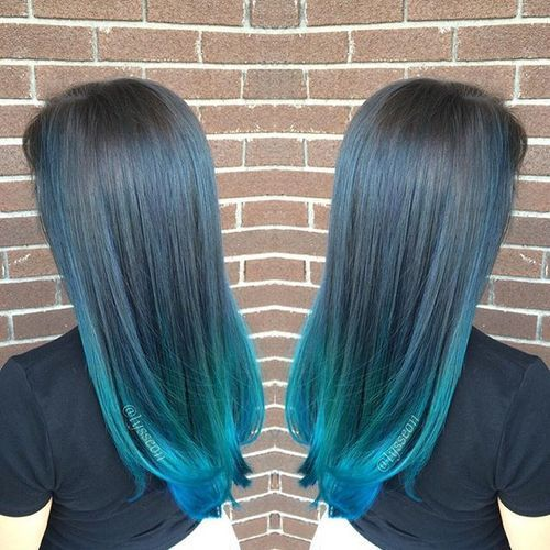 20 Cool Blue Hair Color Designs Pastel Ombre Balayage Hairstyles 2019