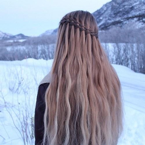 20 Wunderschone Wasserfall Frisuren Susse Lange Frisuren Bestefrisur