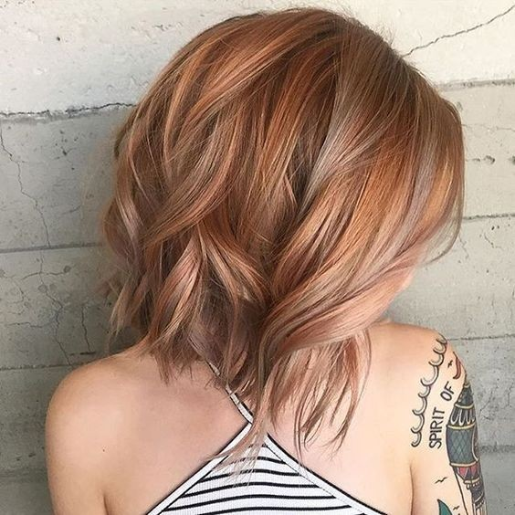 Balayage Bob Hairstyles for Thick Hair - Shoulder Length Haircut Ideas